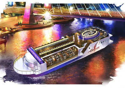 Design Appraisal for restaurant Ship, Saffron Cruise