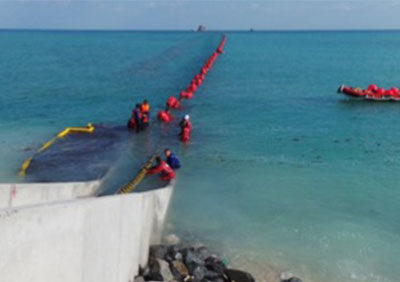 Shore-end cable Installation of from Ras Laffan to Halul Island. – Qatar